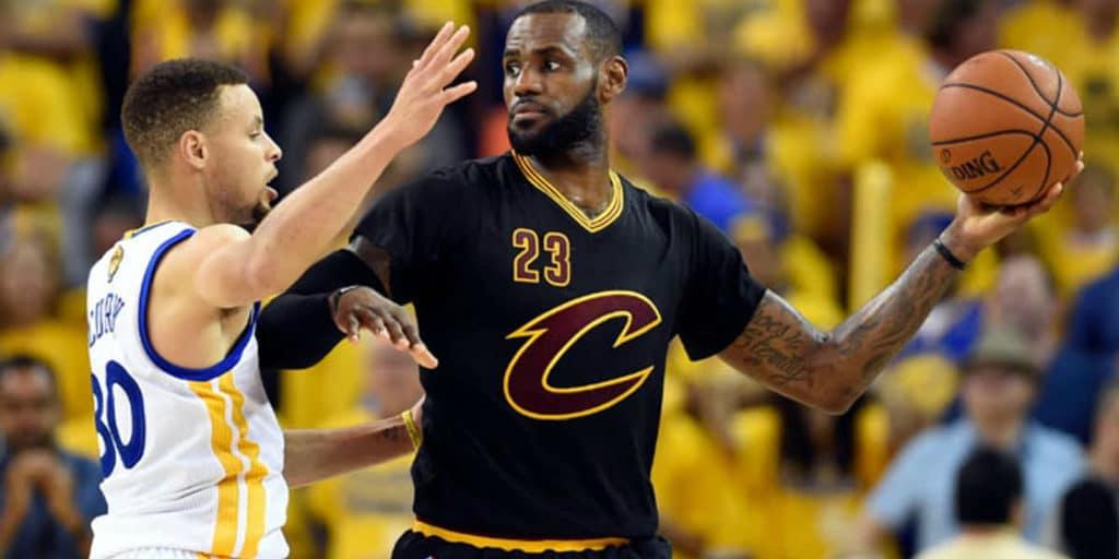 Stephen Curry e LeBron James